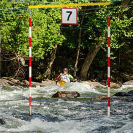 Les Palenik - Aproaching the slalom gate