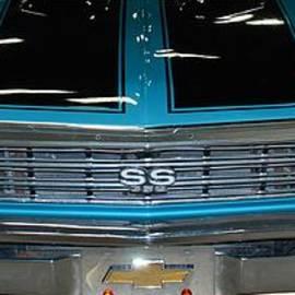 GD Rankin - Aqua 67 396 SS Chevelle Nose