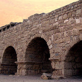 David T Wilkinson - Aqueduct at Caesarea