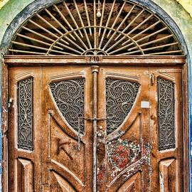 Diana Sainz - Arched Door In El Casco by Diana Sainz