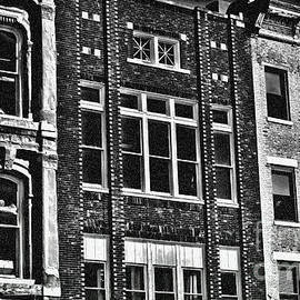 Luther Fine Art - Architecture - Early City Buildings BW - Luther Fine ARt