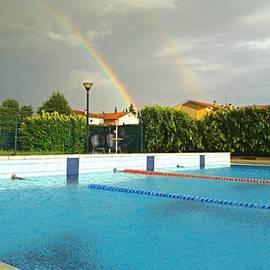 Mattia Quattrini - Arcobaliamo?! #sunset #arcobaleno