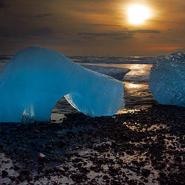 Mike Berenson - Arctic Morning Ice Melt