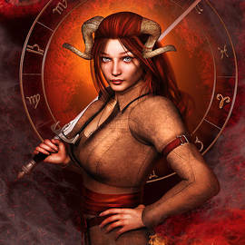 Britta Glodde - Aries Fantasy Zodiac Edition