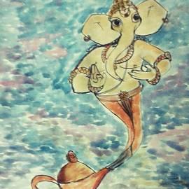 Vineeth Menon - Arising from the magic lamp