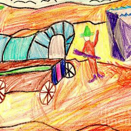 Fox - Arizona Cowboy and Conestoga Wagon
