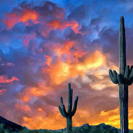 Dominic Piperata - Arizona Desert Sunset