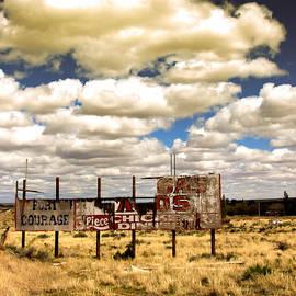 Ellen and Udo Klinkel - Arizona sky over Route 66