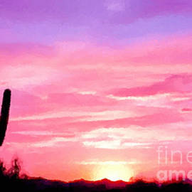 Bob and Nadine Johnston - Arizona Sunset