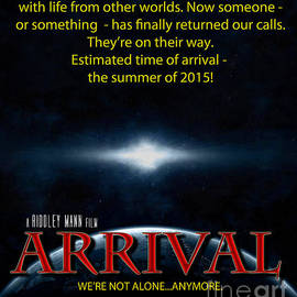 Mike Nellums - ARRIVAL faux movie poster