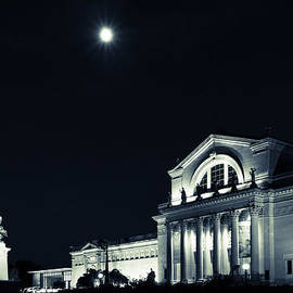 Scott Rackers - Art Museum and Moonlight