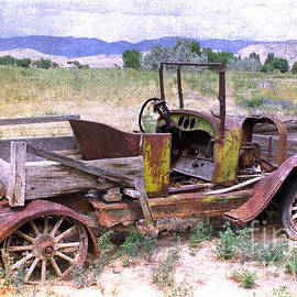 Janice Rae Pariza - Art of the Old West  Model T