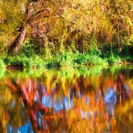 Leif Sohlman - artistic paitirly Trollskog Vid Vatten-forest At Water For Trools