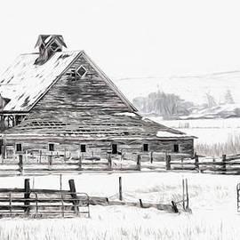 Mary Jo Allen - Artistic Winter Barn