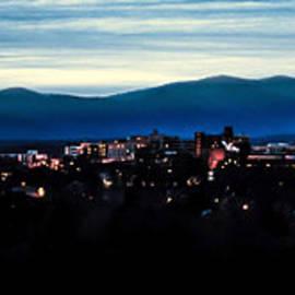 Karen Wiles - Asheville Skyline