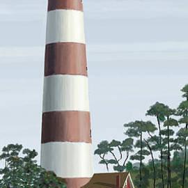 Jacqueline Barden - Assateague Lighthouse
