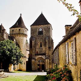 Weston Westmoreland - Asymmetric Tower and church of Saint Genies Perigord