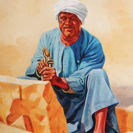 Ahmed Bayomi - Aswan Sculptor
