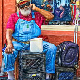 Steve Harrington - At His Office 2 - Grandpa Elliott Small