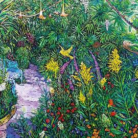 Linda J Bean - At the Butterfly Rainforest