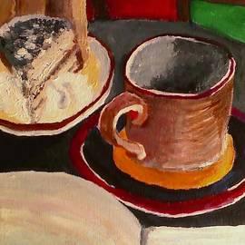 Darlene Berger - At Witches Brew Tiramisu Coffee And Writing Too