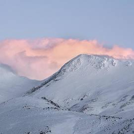 Guido Montanes Castillo - Atalaya  mountain 3129 meters at sunset