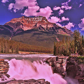 Allen Beatty - Athabasca Falls - Jasper National Park
