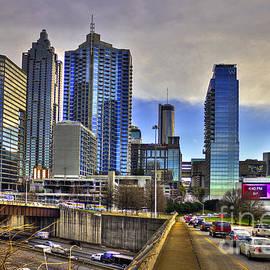 Reid Callaway - Atlanta Downtown Spring Street Reflections