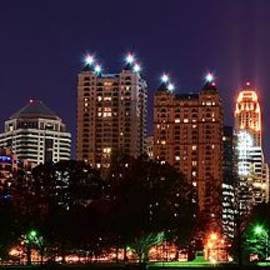 Frozen in Time Fine Art Photography - Atlanta Panoramic From Piedmont Park
