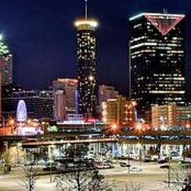 Frozen in Time Fine Art Photography - Atlanta Panoramic View