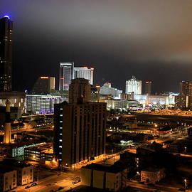 Deborah  Crew-Johnson - Atlantic City at Night
