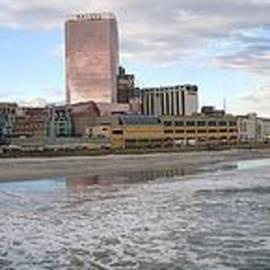 Charles A LaMatto - Atlantic City Panorama II