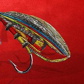 Serge Averbukh - Atlantic Salmon Dry Fly on Red