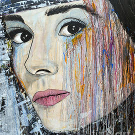 Ismeta Gruenwald - Audrey Hepburn-Abstract