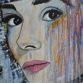 Ismeta Gruenwald - Audrey Hepburn - Abstract1