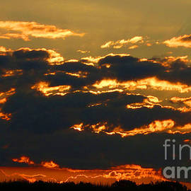 Tina M Wenger - August 13 2014 Cloudy Sunrise