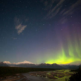 Dora Miller - August Aurora and Denali