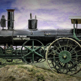 F Leblanc - AULTMAN SAW MILL SPECIAL DOUBLE STAR STEAM TRACTOR v3