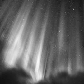 Mike Berenson - Aurora Curtains In The Arctic Night