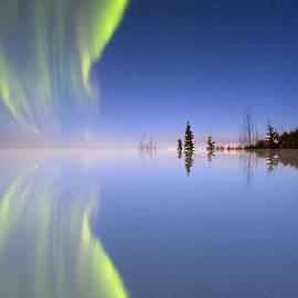 Ed Boudreau - Aurora Mirrored