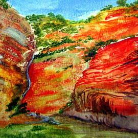 Roberto Gagliardi - Australian Gorge NT