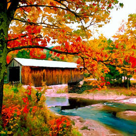 Bob and Nadine Johnston - Authentic Covered Bridge VT