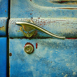 Ann Powell - automobiles- cars - Blue and Rust