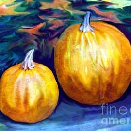 Annie Zeno - Autumn Artwork With Pumpkins