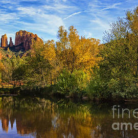 Medicine Tree Studios - Autumn at Cathedral Rock