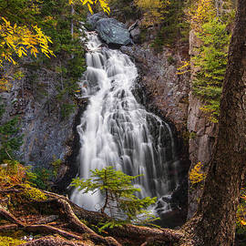 Christopher Whiton - Autumn at Crystal Cascade