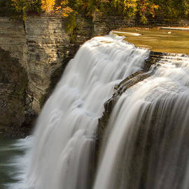 Darleen Stry - Autumn at the Falls