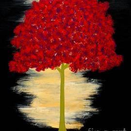 JoNeL Art  - Autumn Auras Night Fall