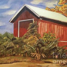 Jan Dappen - Autumn Barn - Signed by Artist - Ohio Barn