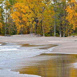 Frozen in Time Fine Art Photography - Autumn Beach